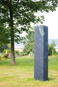 Stele Naturfriedhof